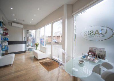 Oasis health & beauty great missenden reception