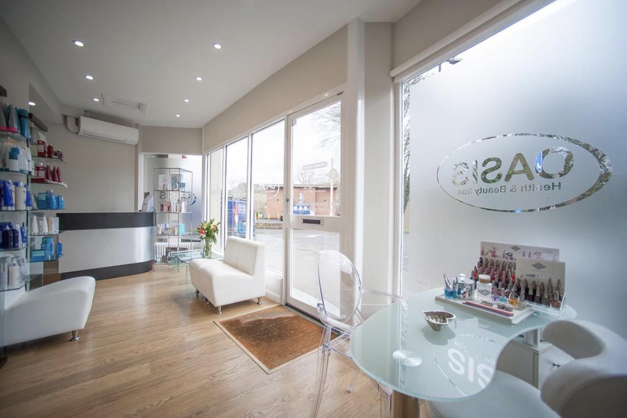 Oasis health & beauty great missenden reception